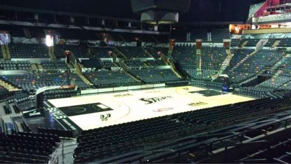 AT&T Center, section: 124, row: 25, seat: 3
