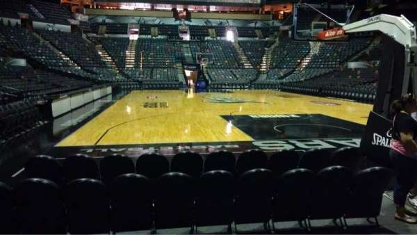 AT&T Center, section: 128, row: 5, seat: 5