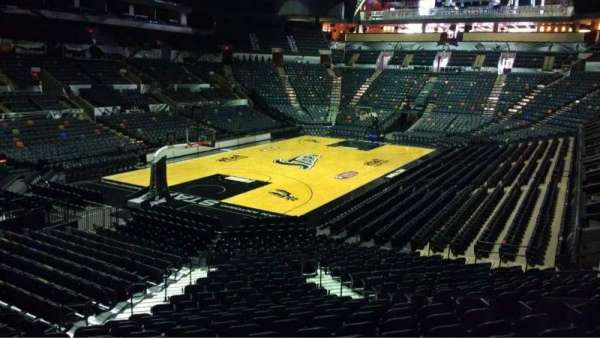 AT&T Center, section: 127, row: 28, seat: 6