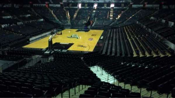 AT&T Center, section: 111, row: 22, seat: 5