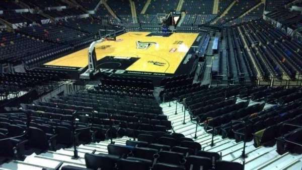 AT&T Center, section: 113, row: 18, seat: 5