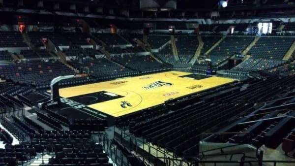 AT&T Center, section: 112, row: 14, seat: 8