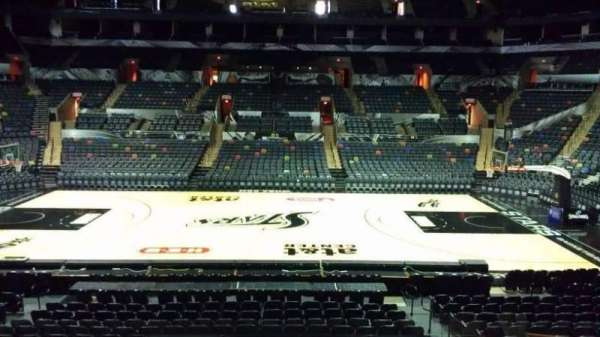 AT&T Center, section: 107, row: 18, seat: 11