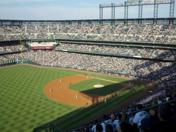 Coors Field, section: U346, row: 20, seat: 8