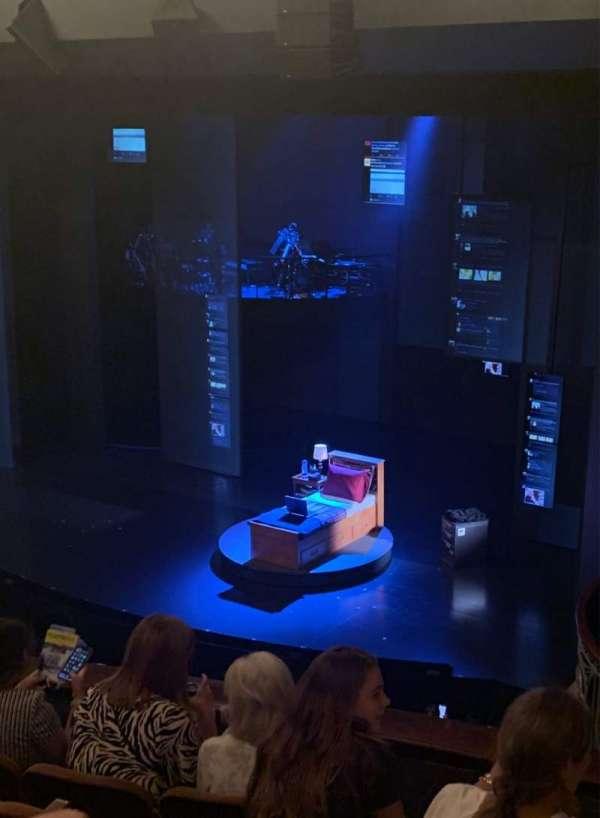 Music Box Theatre, section: Mezzanine R, row: E, seat: 26