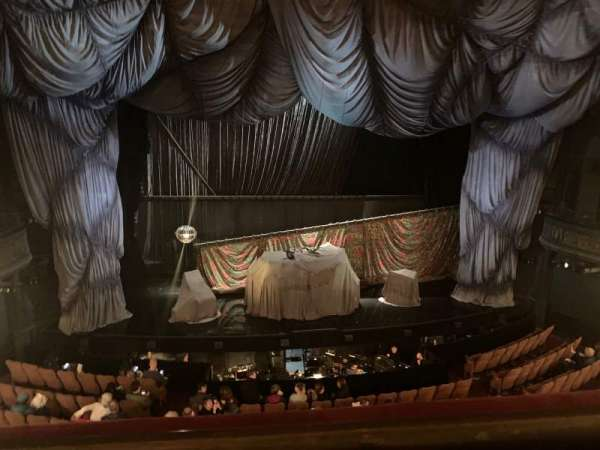 Majestic Theatre, section: Front Mezzanine C, row: A, seat: 101