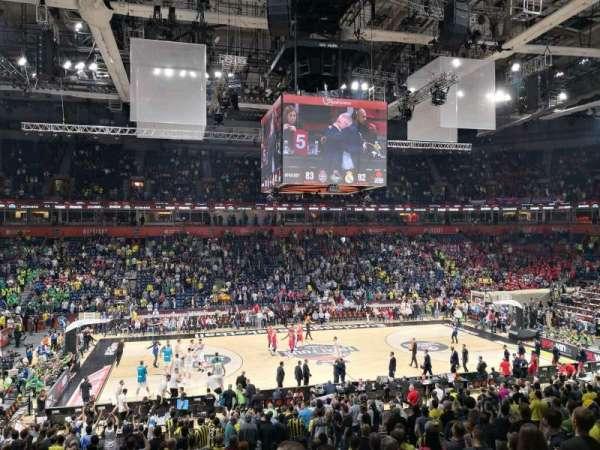 Stark Arena, section: 214, row: W, seat: 4