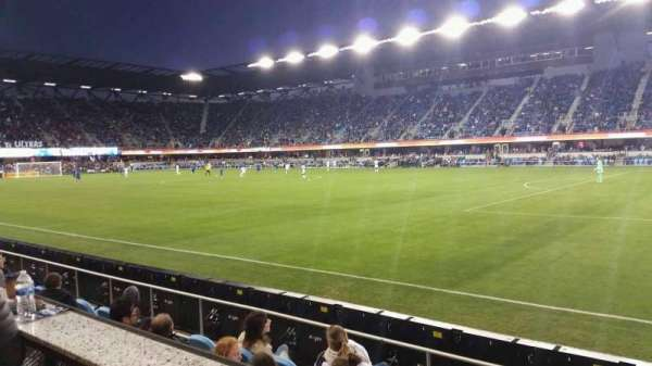 PayPal Park, section: AS134B, row: SRO, seat: 6