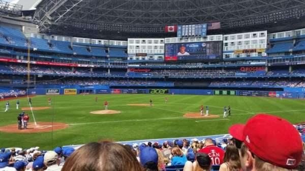 Rogers Centre, section: 119R, row: 24, seat: 4