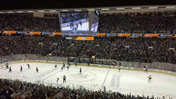 SAP Center, section: C10, row: 1