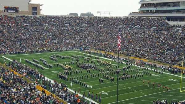 Notre Dame Stadium, section: 104, row: 24, seat: 19