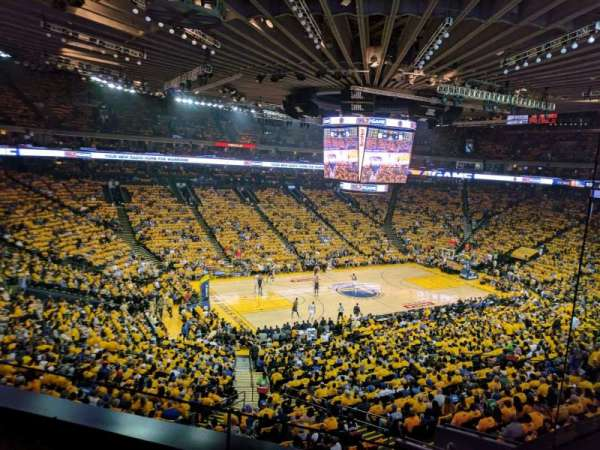 Oracle Arena, section: M15, row: 2