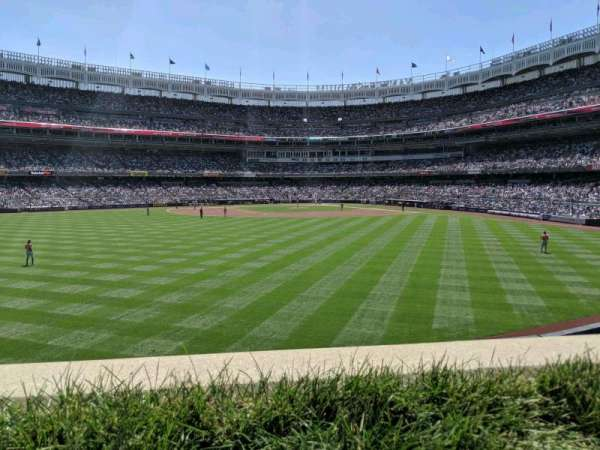 Yankee Stadium, section: 238, row: 1, seat: 4