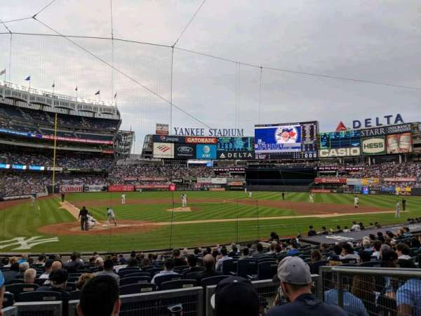 Yankee Stadium, section: 118, row: 4, seat: 3