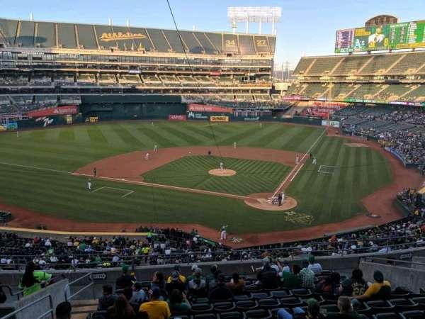 Oakland Coliseum, section: Club Suite 38, row: 1, seat: 3