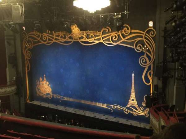 Broadhurst Theatre, section: Mezzanine C, row: J, seat: 28