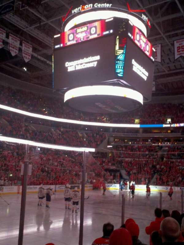 Capital One Arena, section: 108, row: E, seat: 12