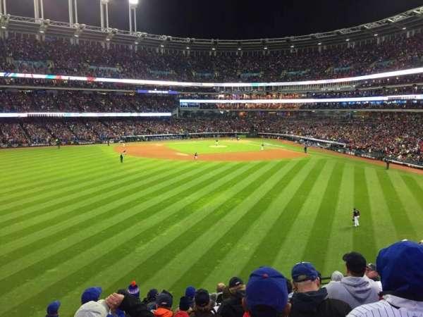 Progressive Field, section: 183, row: J, seat: 11