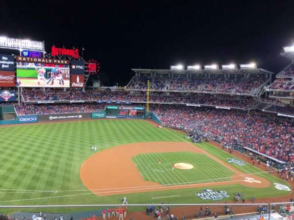 Nationals Park, section: 307, row: C, seat: 17