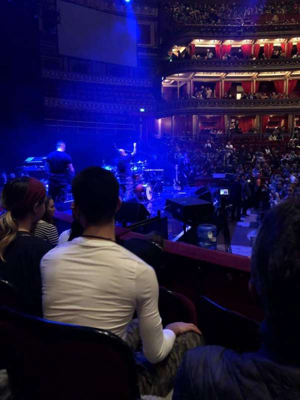 Royal Albert Hall, section: G, row: 3, seat: 8