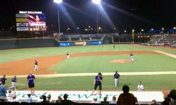 BB&T Ballpark (Winston-Salem), section: 114, row: 17, seat: 7
