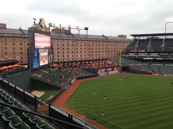 Oriole Park at Camden Yards, section: 384, row: 4, seat: 19