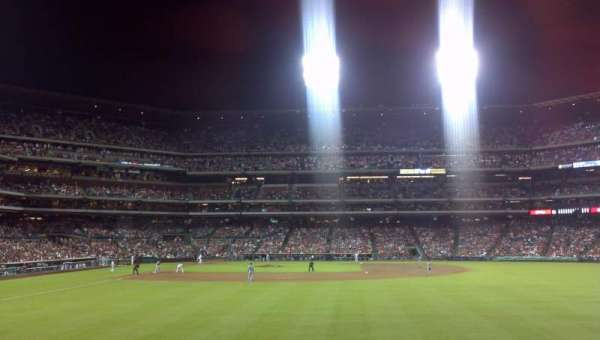 Citizens Bank Park, section: 104, row: 2, seat: 20