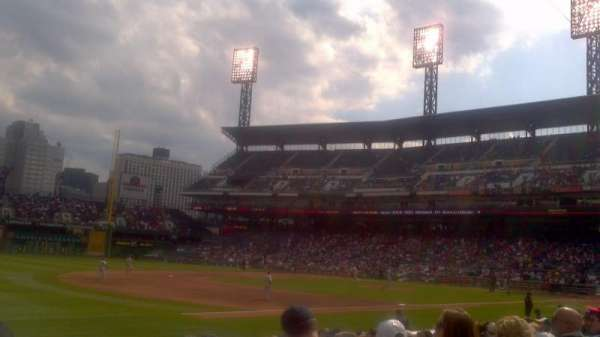 PNC Park, section: 127, row: A, seat: 15