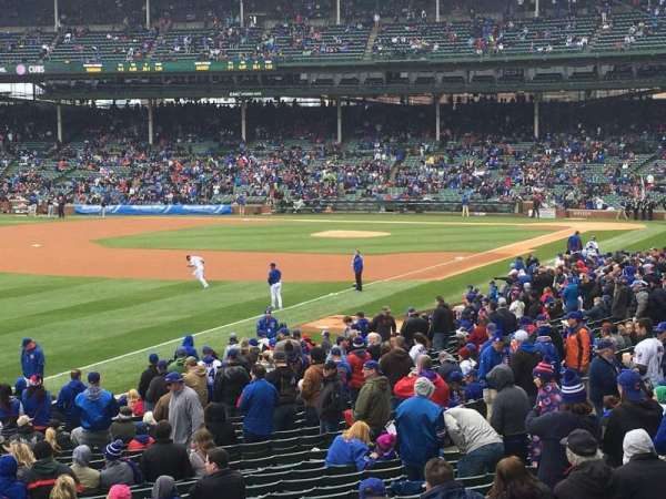 Wrigley Field, section: 204, row: 1, seat: 106