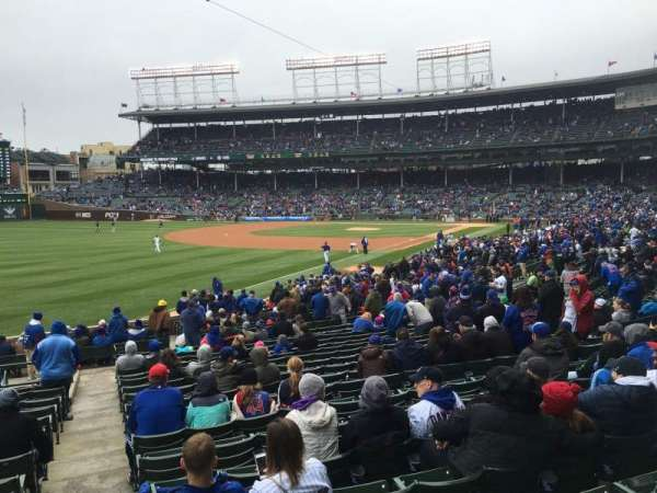 Wrigley Field, section: 204, row: 1, seat: 17