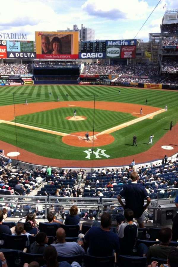 Yankee Stadium, section: 220a, row: 1, seat: 1