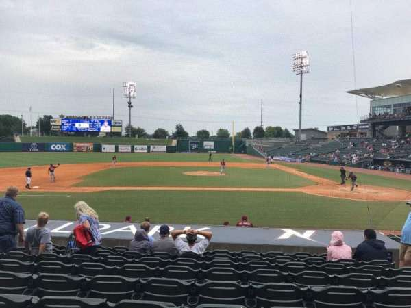 Arvest Ballpark, section: 115, row: N, seat: 6