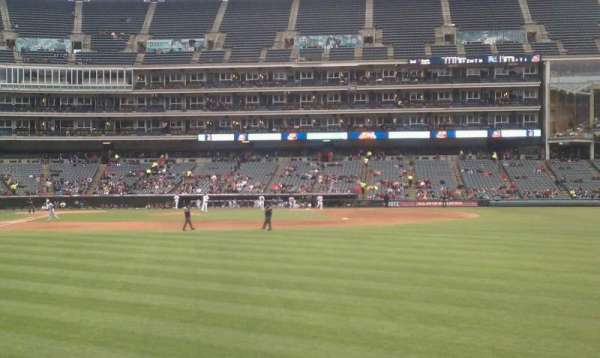 Progressive Field, section: 113, row: c, seat: 7