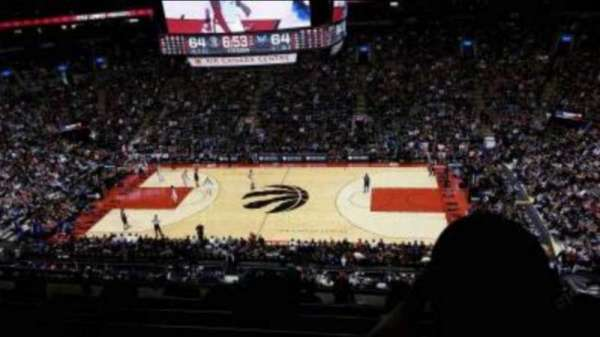 Scotiabank Arena, section: 306, row: 6, seat: 19