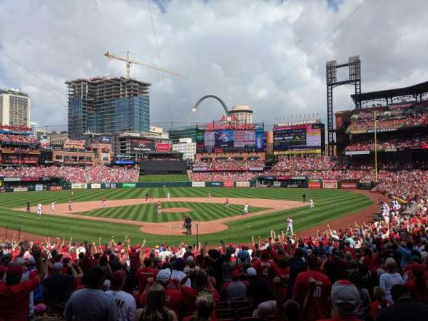 Busch Stadium, section: 150, row: 15, seat: 13