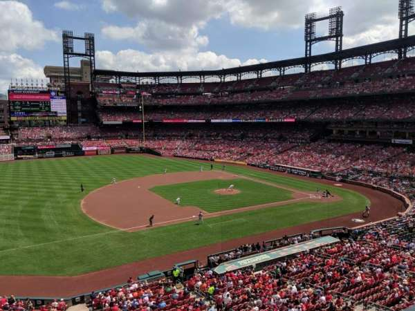 Busch Stadium, section: 259, row: 1, seat: 9