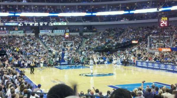 American Airlines Center, section: 102, row: d, seat: 5
