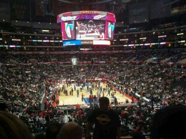 Staples Center, section: 217, row: 9, seat: 15