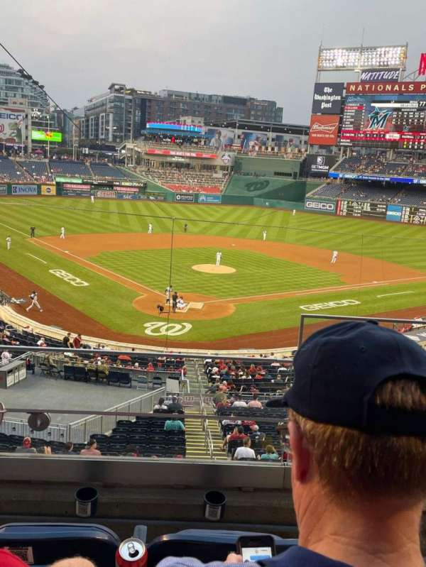 Nationals Park, section: 214, row: C, seat: 1