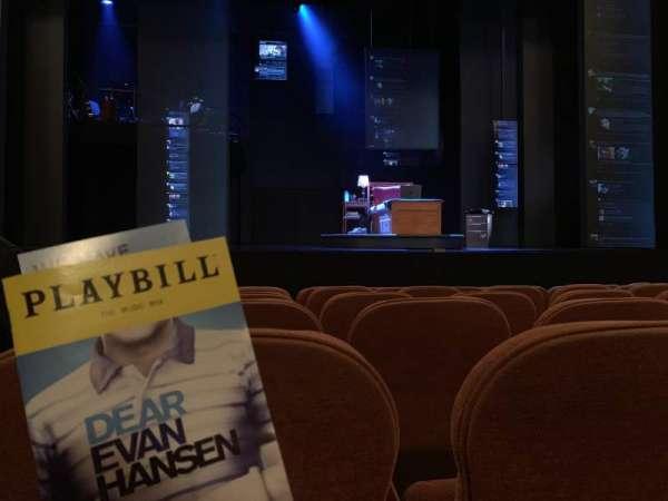 Music Box Theatre, section: Orchestra C, row: E, seat: 102