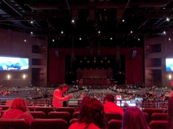Microsoft Theater, section: Loge Center, row: F, seat: 312