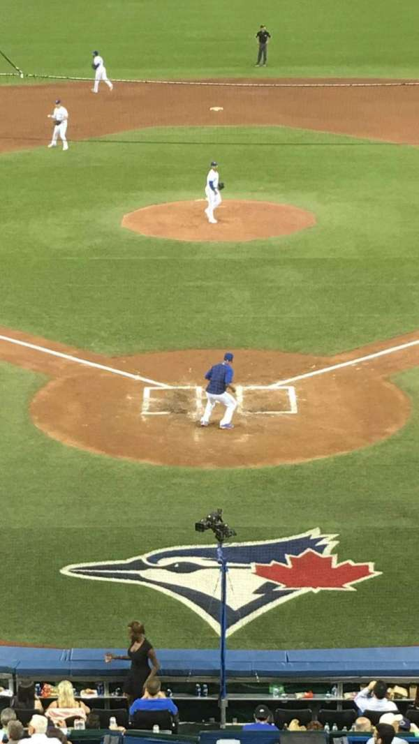Rogers Centre, section: 224BR, row: 8, seat: 7