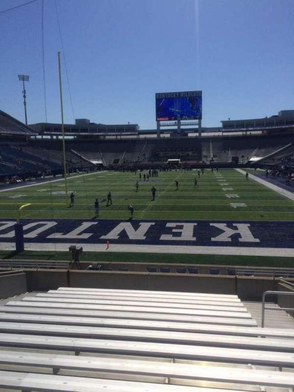 Kroger Field, section: 17, row: 16, seat: 15