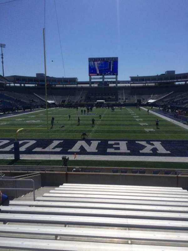 Kroger Field, section: 17, row: 16, seat: 10