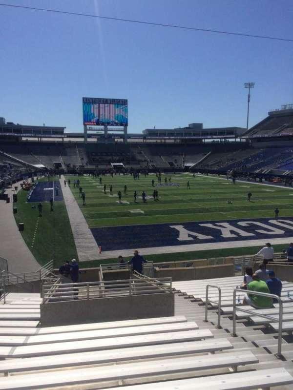Kroger Field, section: 13, row: 21, seat: 17