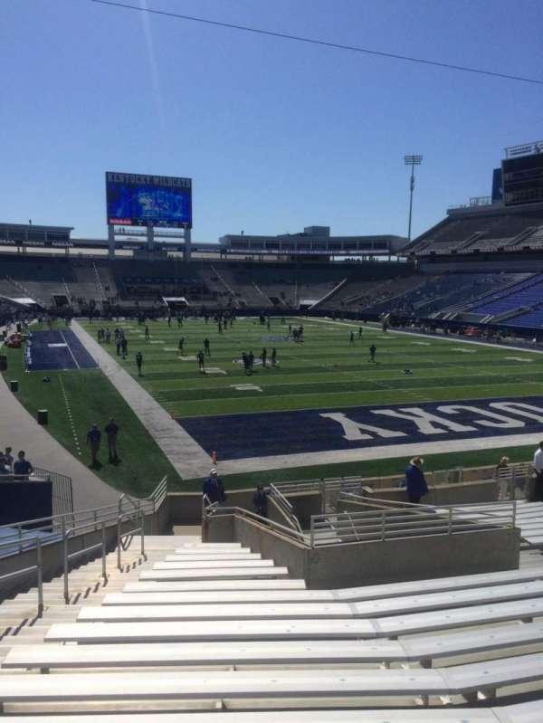 Kroger Field, section: 13, row: 21, seat: 9