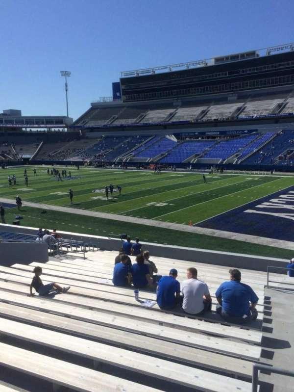 Kroger Field, section: 10, row: 23, seat: 23