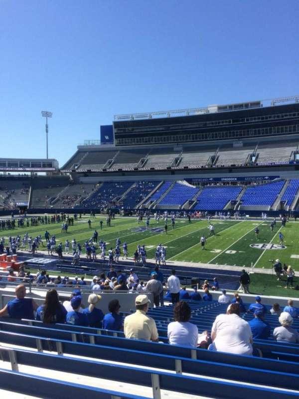 Kroger Field, section: 8, row: 27, seat: 13