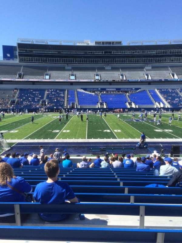 Kroger Field, section: 5, row: 17, seat: 14