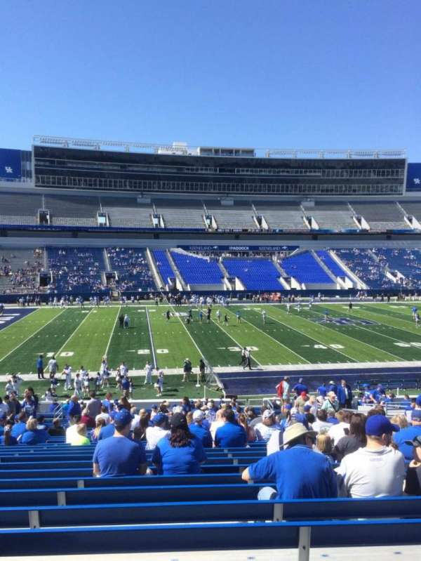 Kroger Field, section: 4, row: 34, seat: 17